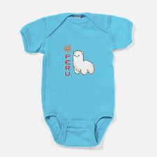 ALPACA PERU Baby Bodysuit