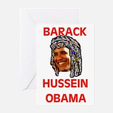 MUSLIM OBAMA Greeting Cards (Pk of 10)