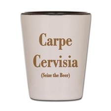 CARPE CERVISIA Shot Glass
