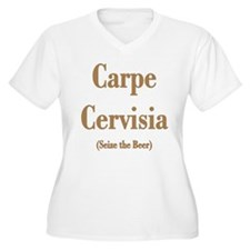 CARPE CERVISIA Plus Size T-Shirt
