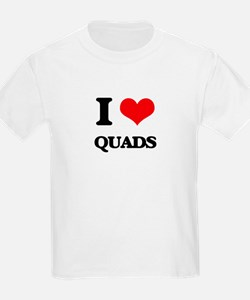 I Love Quads T-Shirt