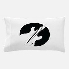 GUITAR LOGO APPLIQUE Pillow Case