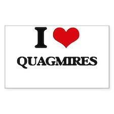 I Love Quagmires Decal
