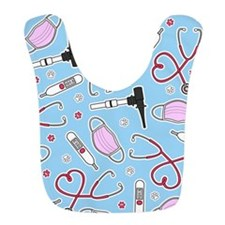 Veterinarian / Veterinary Technician Love Blue Bib