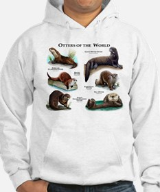 Otters of the World Hoodie