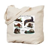 Otter Canvas Totes