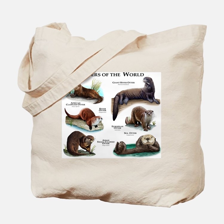 Otters of the World Tote Bag