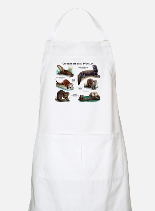 Otters of the World Apron