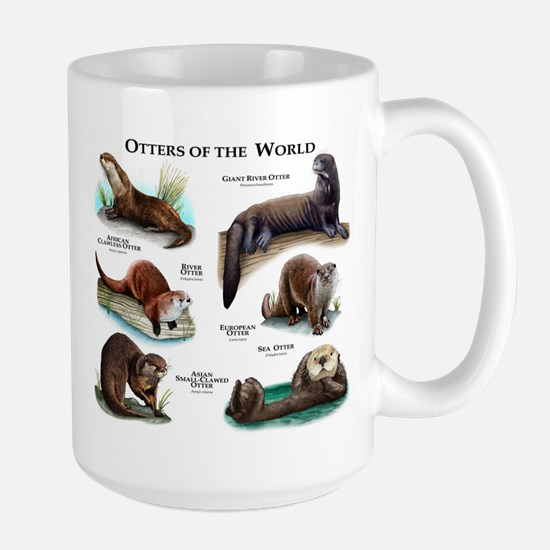 Otters of the World Large Mug