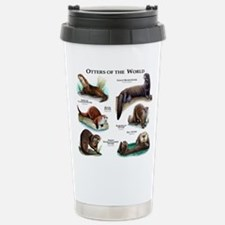 Otters of the World Stainless Steel Travel Mug
