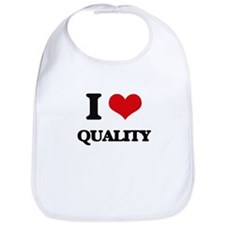 I Love Quality Bib