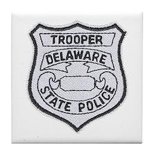Delaware State Police Tile Coaster
