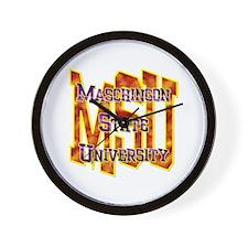 MSU Wall Clock