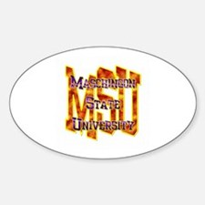 MSU Oval Decal