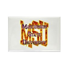 MSU Rectangle Magnet