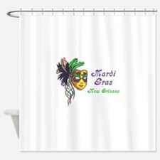 MARDI GRAS NEW ORLEANS Shower Curtain