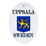 The Uppsala Store Oval Ornament