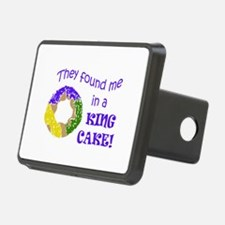 FOUND ME IN A KING CAKE Hitch Cover