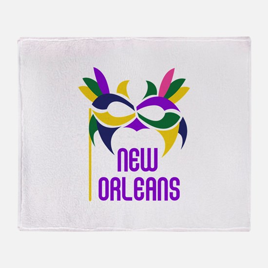 NEW ORLEANS Throw Blanket