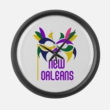NEW ORLEANS Large Wall Clock