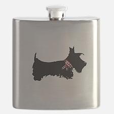 Scottie Dog Flask