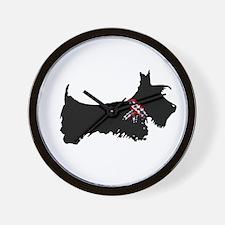Scottie Dog Wall Clock
