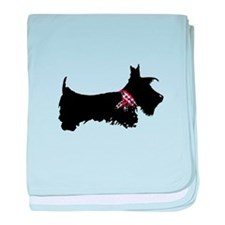 Scottie Dog baby blanket
