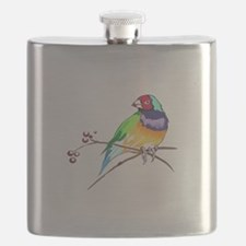 GOULDIAN FINCH Flask