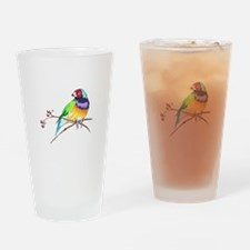 GOULDIAN FINCH Drinking Glass