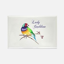 LADY GOULDIAN FINCH Magnets