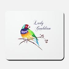 LADY GOULDIAN FINCH Mousepad