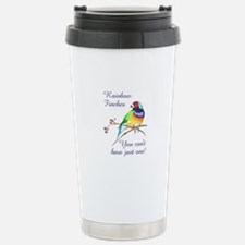 RAINBOW FINCHES Travel Mug