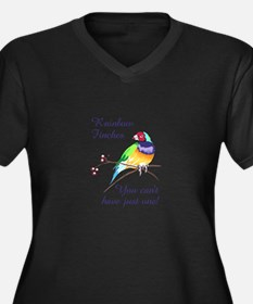 RAINBOW FINCHES Plus Size T-Shirt