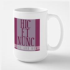 Here and Now (Latin) Mug
