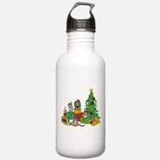 Christmas Cats Water Bottle
