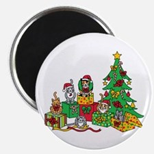Christmas Cats Magnets