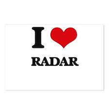 I Love Radar Postcards (Package of 8)