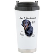 Unique Black and tan coonhound Travel Mug
