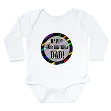 Unique 40 year birthday Long Sleeve Infant Bodysuit