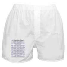 DISPATCHERS PRAYER Boxer Shorts