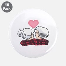 "SENIOR COUPLE 3.5"" Button (10 pack)"