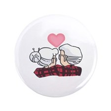 "SENIOR COUPLE 3.5"" Button"