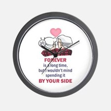 FOREVER IS A LONG TIME Wall Clock