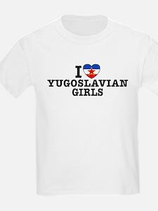 I Love Yugoslavian Girls T-Shirt