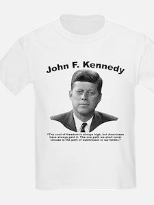 JFK Freedom T-Shirt