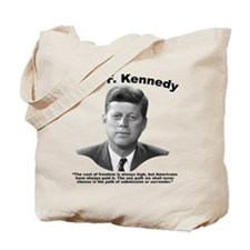 JFK Freedom Tote Bag