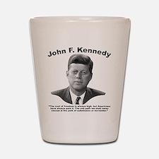 JFK Freedom Shot Glass