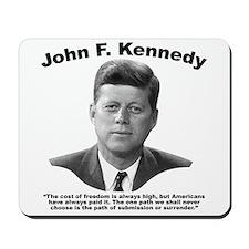 JFK Freedom Mousepad
