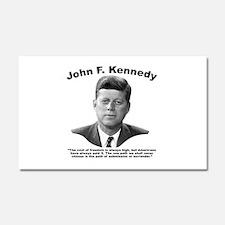 JFK Freedom Car Magnet 20 x 12