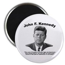 JFK Freedom Magnet